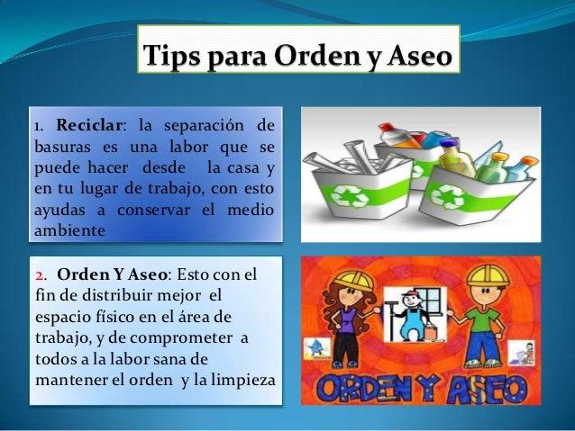 Actividad orden y aseo - Orden y limpieza en el hogar ...