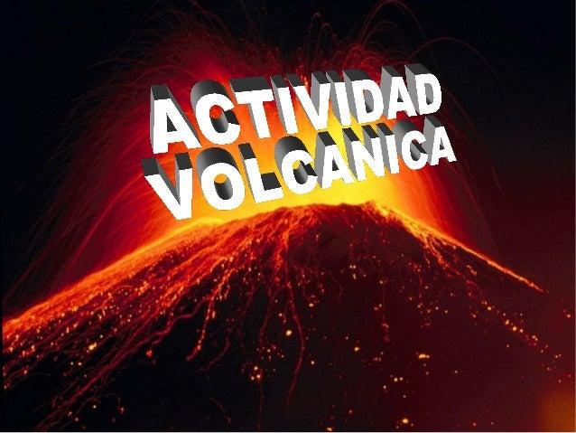 actividad volc u00e1nica