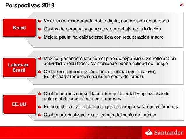 Perspectivas 2013                                                              47             Volúmenes recuperando doble ...