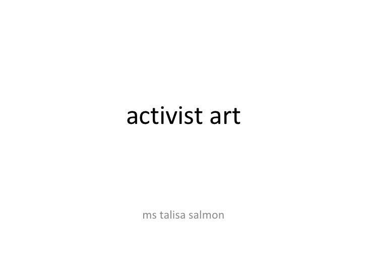 activist art ms talisa salmon