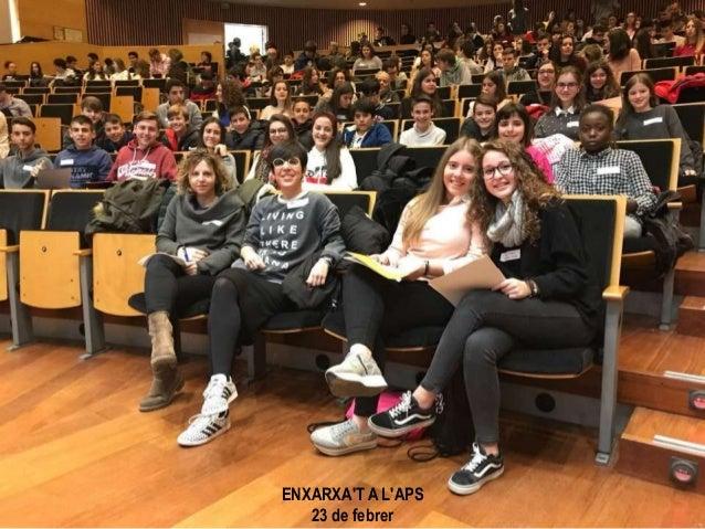 ENXARXA'T A L'APS 23 de febrer