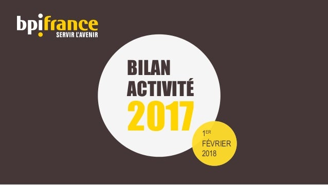 BILAN ACTIVITÉ 2017 1ER FÉVRIER 2018