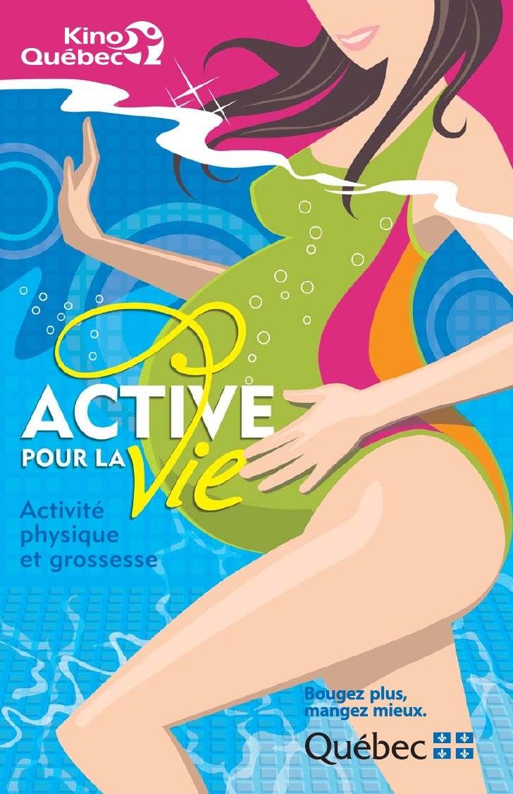 Activitéphysiqueet grossesse
