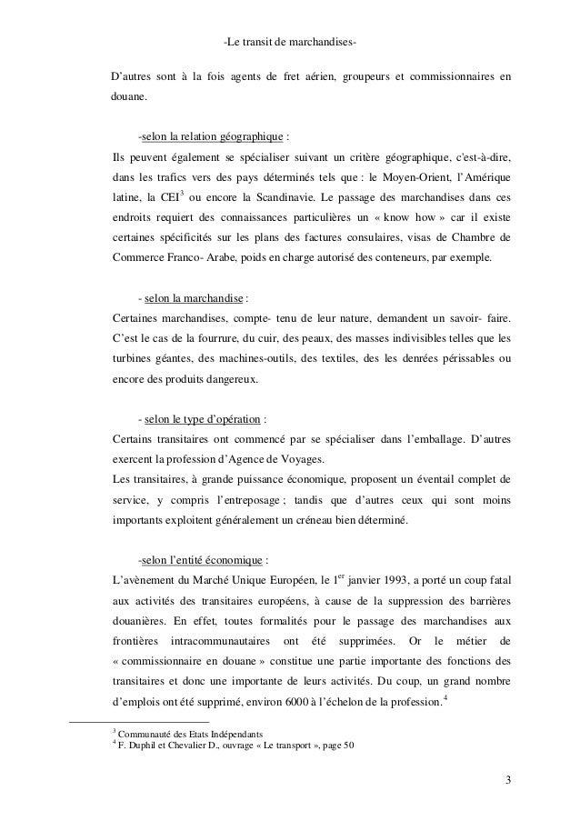 Activites du transistaire - Chambre de commerce franco arabe ...