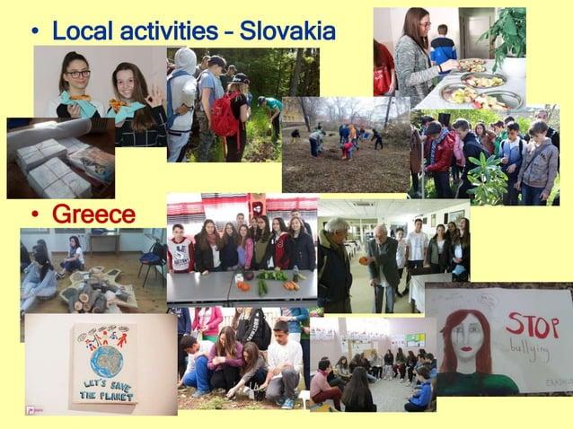 • Local activities – Slovakia • Greece