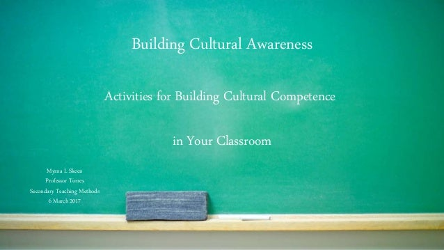 activities to build cultural competence