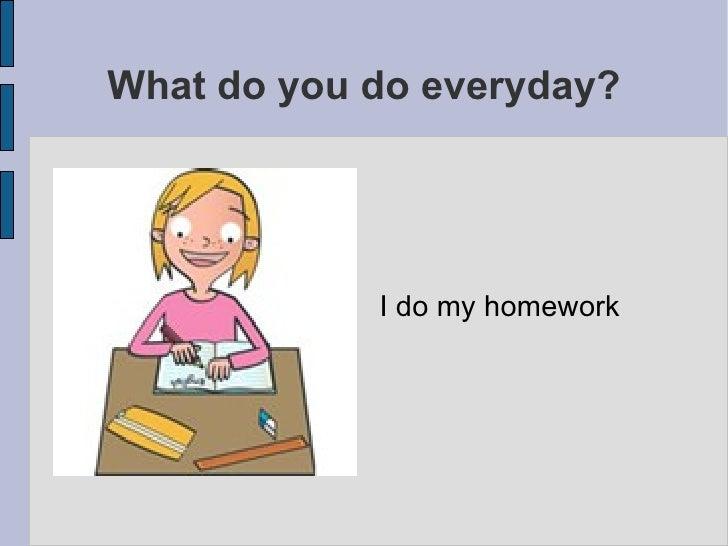 I can't do my english homework