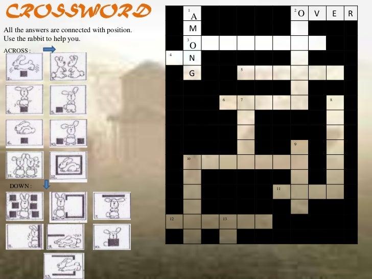 CROSSWORD                                           1                                                     A               ...