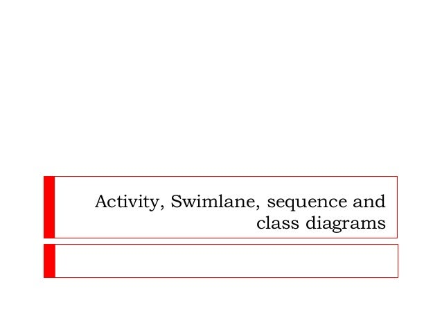 Activity sequence class and swimlane activity swimlane sequence and class diagrams ccuart Images