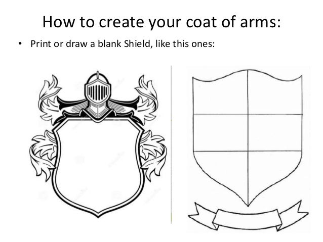 Activity coat of arms