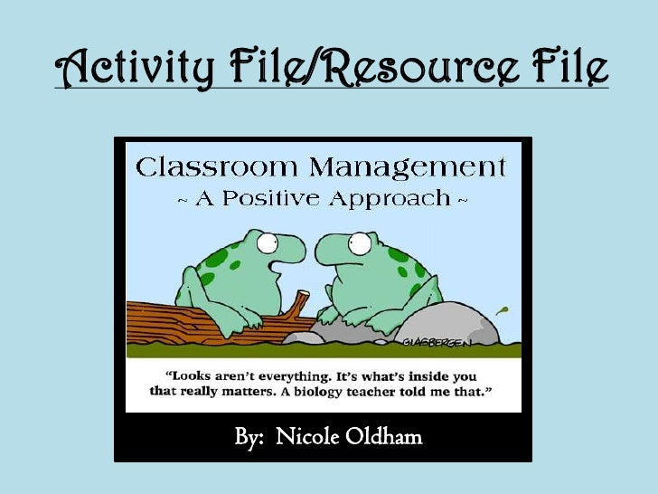 Activity File/Resource File<br />By:  Nicole Oldham<br />