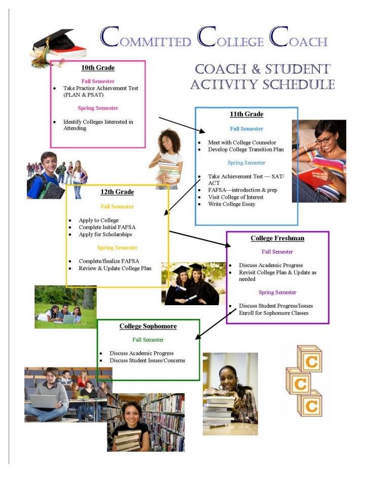 CCC Activity schedule pg 2