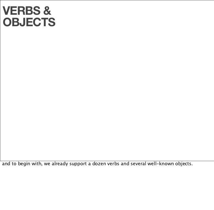 VERBS &                             Add Friend                   Article  OBJECTS                             Favorite    ...