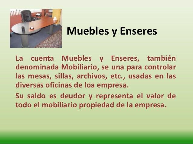Activos no corrientes for Mobiliario de oficina definicion
