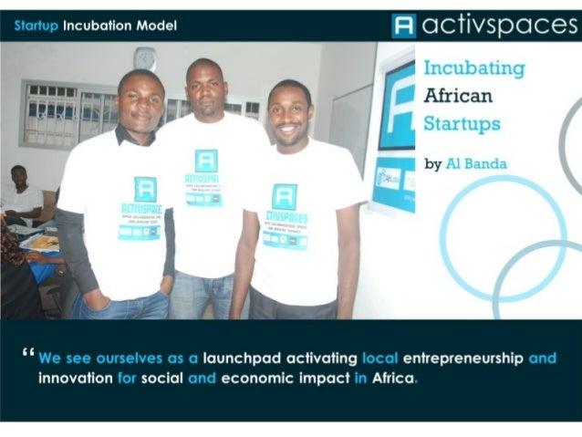 ActivSpaces Cameroon Al Banda Incubating Start Ups
