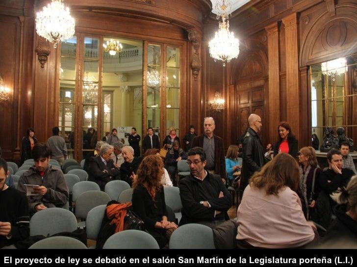 El proyecto de ley se debatió en el salón San Martín de la Legislatura porteña (L.I.)