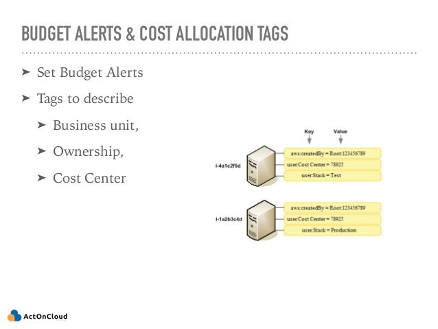 ENABLE DETAILED MONITORING ➤ Cost Allocation CSV ➤ Detailed Billing CSV ➤ Aware of AWS Pricing APIs: https://pricing.us-ea...