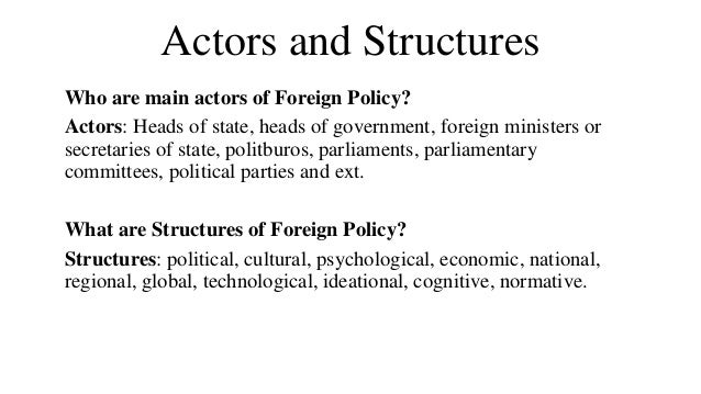 actors in policy formulation and two Effective formulation means that the policy proposed  there are, then, two aspects to policy formulation:  faulty or if the political actors either.