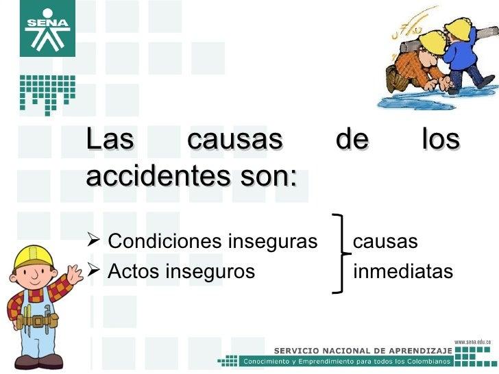 Actos y condiciones inseguras Slide 2
