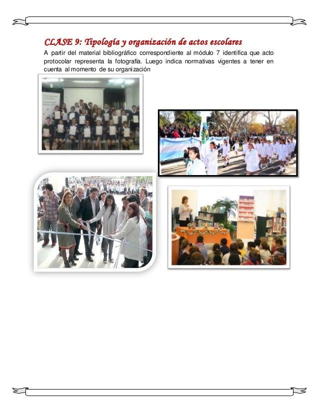 Actos Y Rituales Escolares