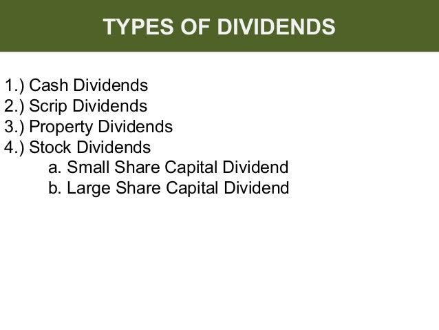 Liquidating dividend adalah kode