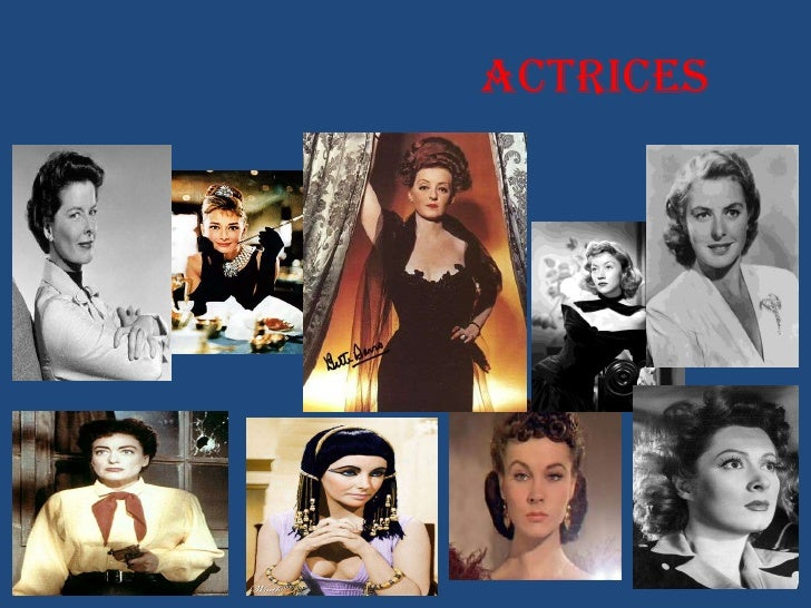 ACTRICES<br />