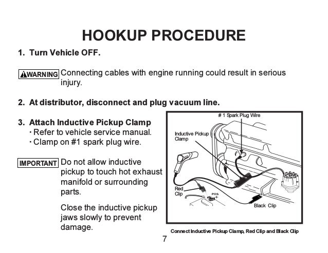 inductive timing light hook up