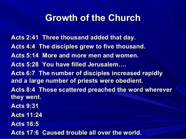 Growth of novel