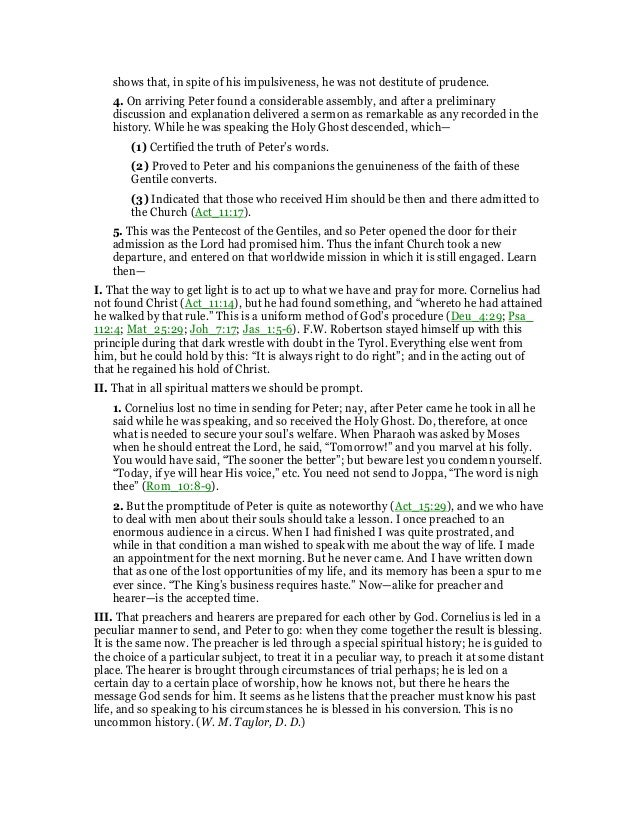 Acts 10 commentary 27 shows sciox Image collections