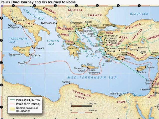 Acts 2728 Malta anchors Roman Road Syrtis Sands driven along W