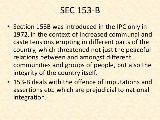 ipc threatening section