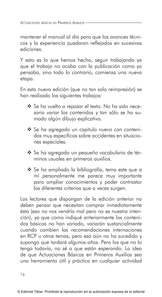 21 © Editorial Tébar. Prohibida la reproducción sin la autorización expresa de la editorial Presentación Presentación Actu...