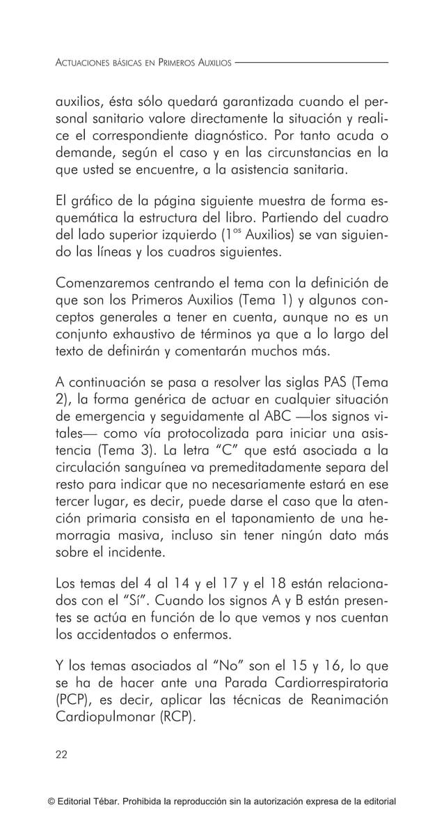 29 © Editorial Tébar. Prohibida la reproducción sin la autorización expresa de la editorial Tema 2 ¿Qué es lo primero que ...