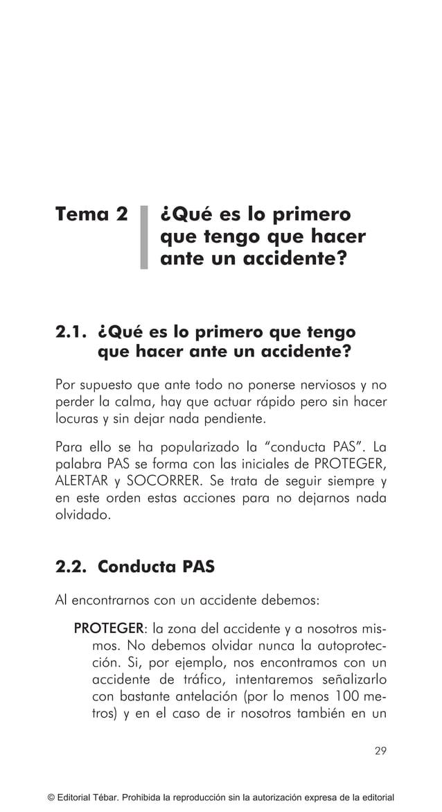 37 © Editorial Tébar. Prohibida la reproducción sin la autorización expresa de la editorial Tema 3 Reconocimiento de los s...