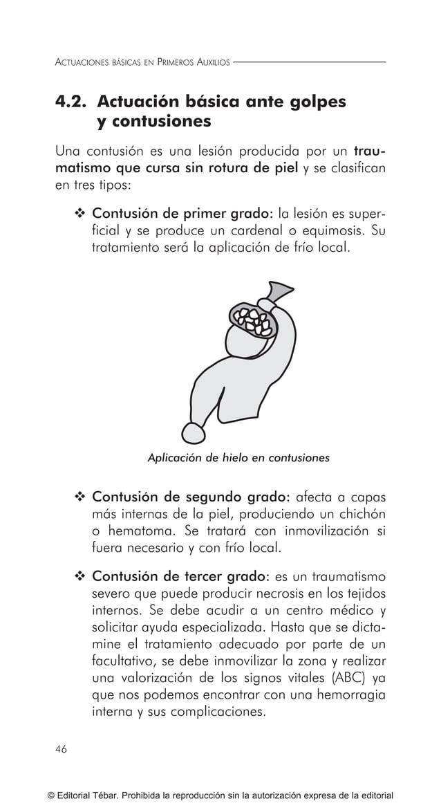 55 © Editorial Tébar. Prohibida la reproducción sin la autorización expresa de la editorial Tema 5 Actuaciones básicas ant...