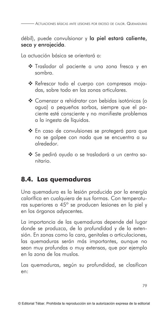 89 © Editorial Tébar. Prohibida la reproducción sin la autorización expresa de la editorial Tema 10 Actuaciones básicas an...