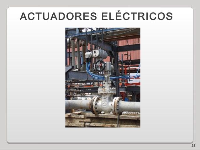 22 ACTUADORES ELÉCTRICOS