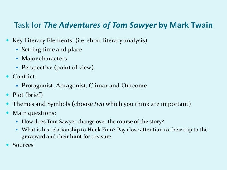 The Adventures of Tom Sawyer: Essay Q&A
