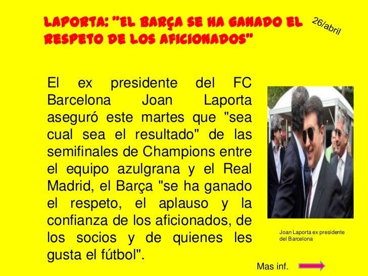 Actualidad del barcelona 22 Slide 3