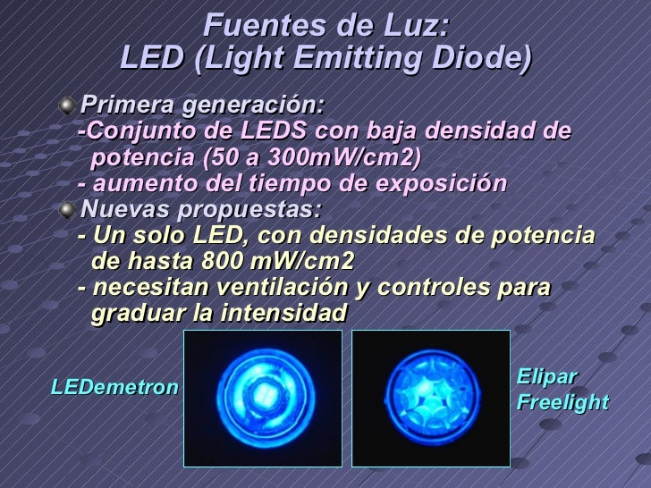 Conceptos actuales en lámparas de fotopolimerización