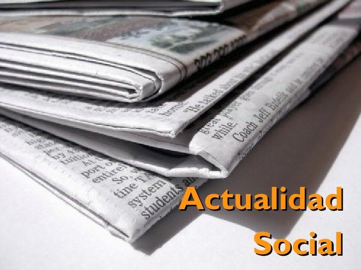 Actualidad     Social