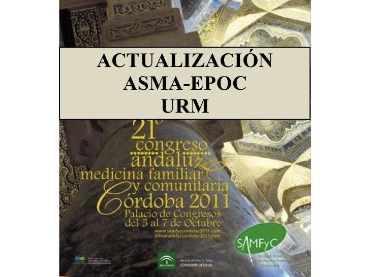 ACTUALIZACIÓN ASMA-EPOC URM