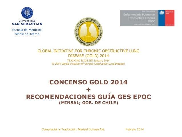 TEACHING SLIDE SET January 2014 © 2014 Global Initiative for Chronic Obstructive Lung Disease GLOBAL INITIATIVE FOR CHRONI...