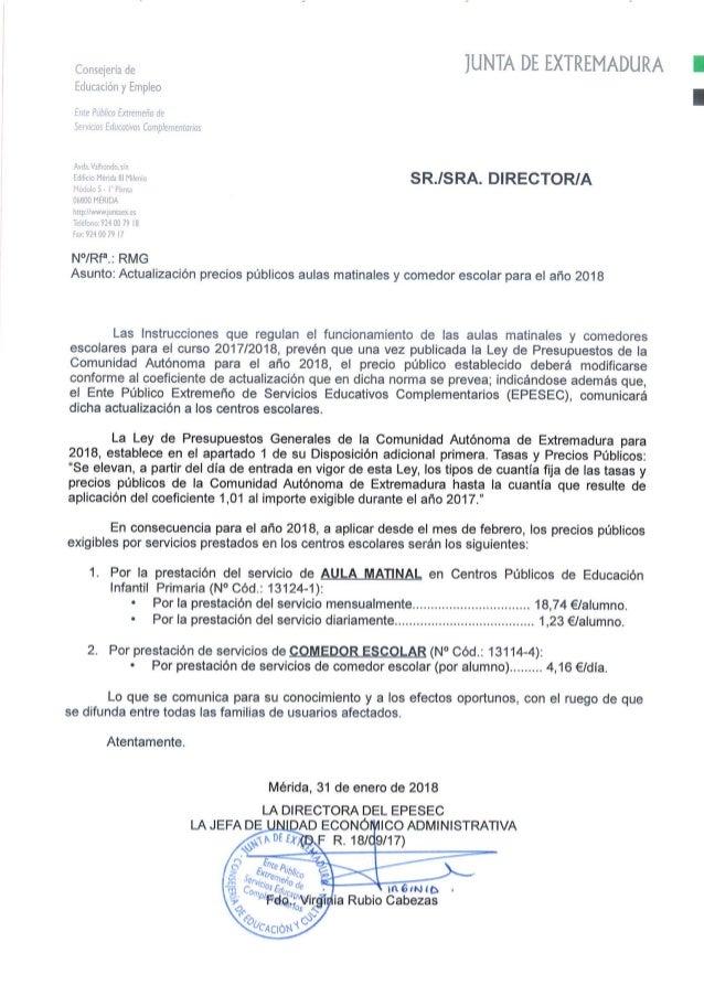 Actualizacion precio publico_comedor_y_aula,_2018