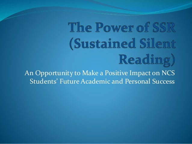 An Opportunity to Make a Positive Impact on NCS Students' Future Academic and Personal Success