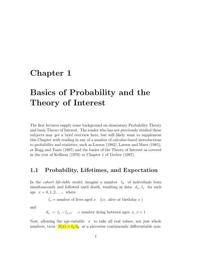 The theory of interest kellison