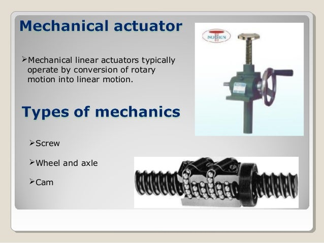 for Types of linear motors