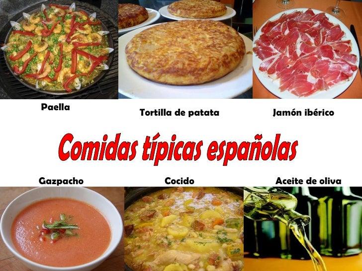 La gastronom a de espa a lessons tes teach for Cocina tradicional espanola