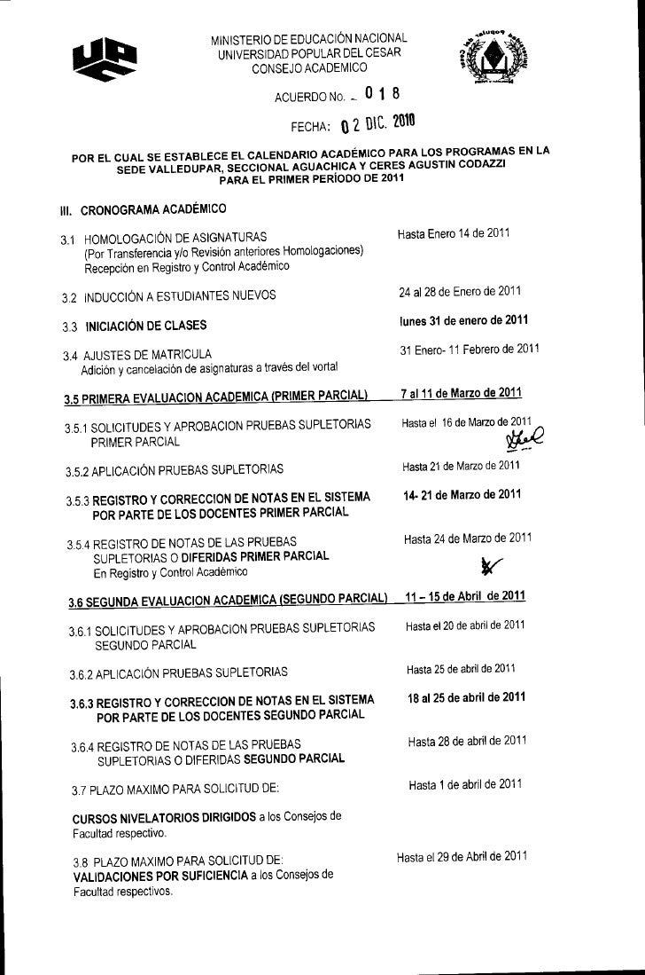 MINISTERIO DE EDUCACIÓN NACIONAL                                 UNIVERSIDAD POPULAR DEL CESAR                            ...