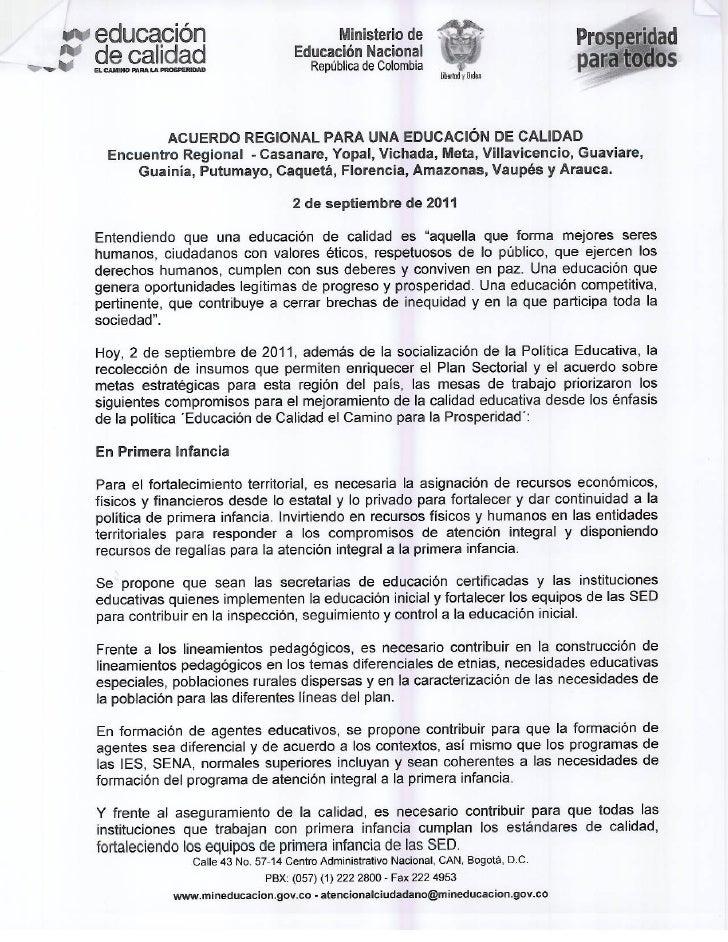 Acuerdo 2 de septiembre